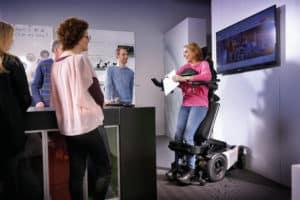 silla de ruedas eléctrica EVO Altus