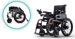 silla de ruedas eléctrica plegable eFlexx